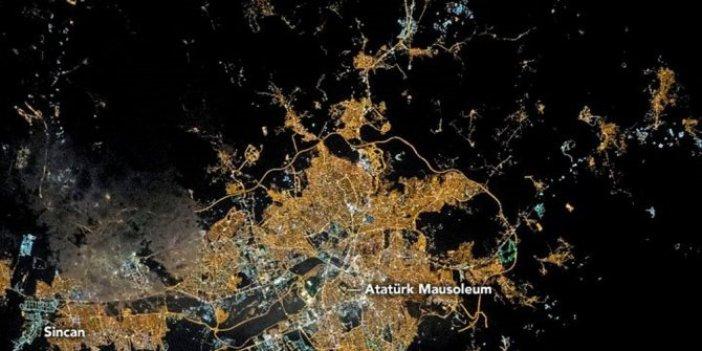 NASA'nın Ankara paylaşımında dikkat çeken Anıtkabir detayı