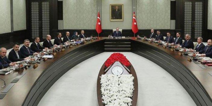 Kabine toplanıyor: Yeni adımlar masada!