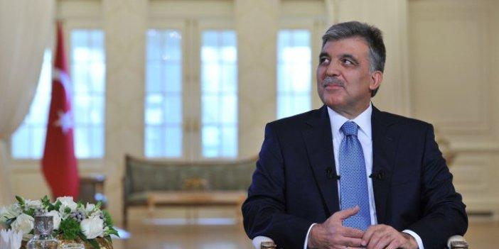 """Abdullah Gül, """"Gördüğüm en büyük tehlike"""" dedi ve AKP'yi işaret etti"""