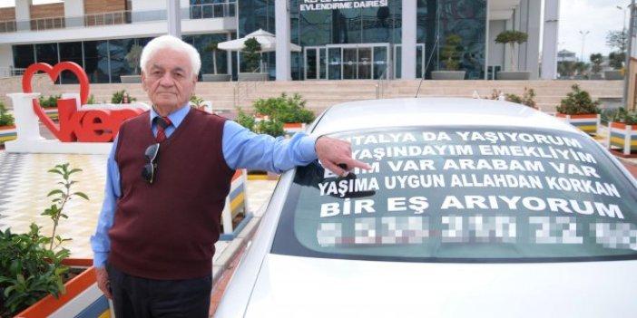 60'ından sonra azdı, malı mülkü kaptırdı: Antalya bu dedeyi konuşuyor!