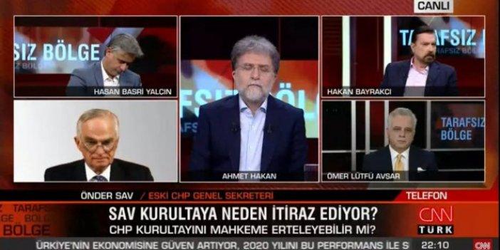 CHP'li Önder Sav, adı geçince CNN yasağını deldi