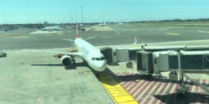 Roma'dan İstanbul'a ilk uçuş