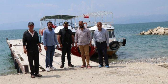 Van'da 60 kişiye bu tekne mezar oldu