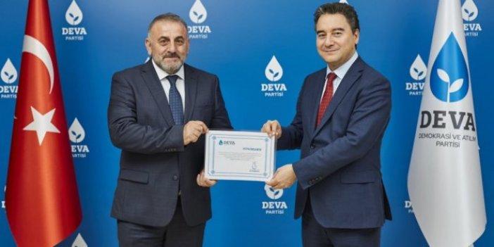 MHP'li eski başkan DEVA Partisine geçti