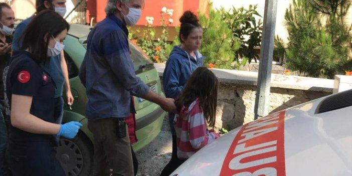 Kütahya'da kocasının şiddetine uğrayan kadını, polis kurtardı