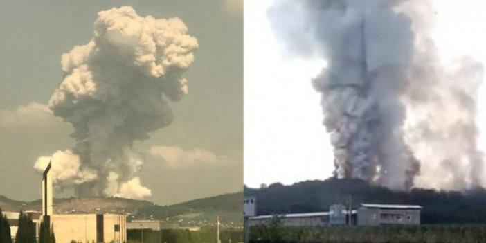 Patlamanın yaşandığı Sakarya'daki fabrikanın kime ait olduğu belli oldu