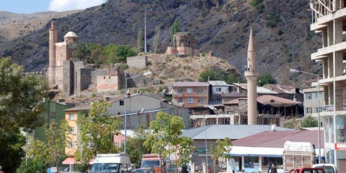 Erzurum'da bir mahallede karantina
