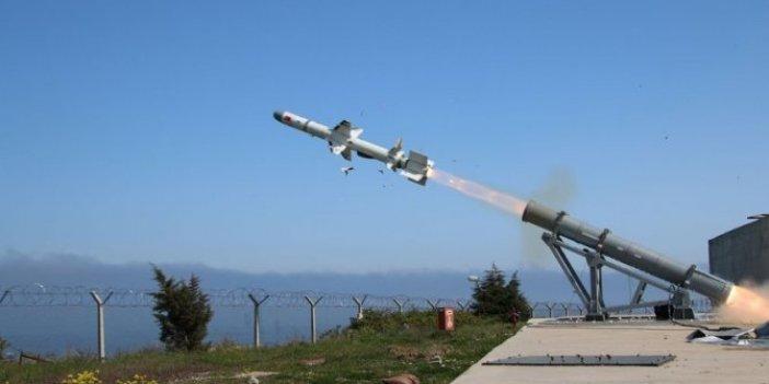 Türkiye'de bir ilk başarıldı: Atmaca hedefini 12'den vurdu