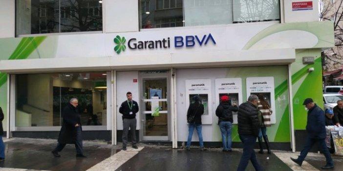 Garanti Bankası'nda korona paniği, çalışanda korona çıktı şube 2 hafta kapatıldı