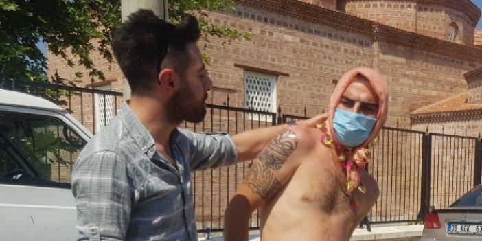 Bursa'da korona virüs işkencesi