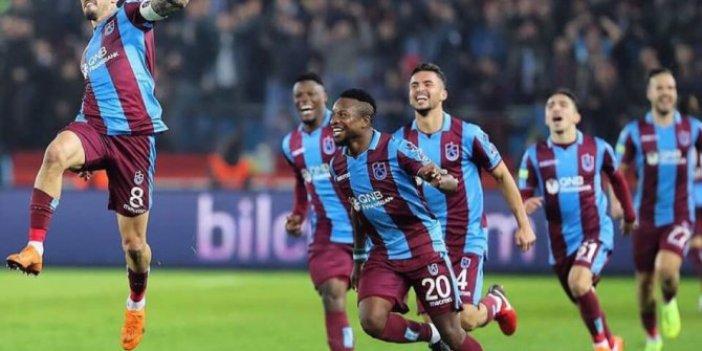 Trabzonspor'un Galatasaray maç kadrosu belli oldu