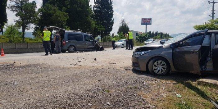 Kocaeli'de feci kaza: 1'i bebek, 6 yaralı