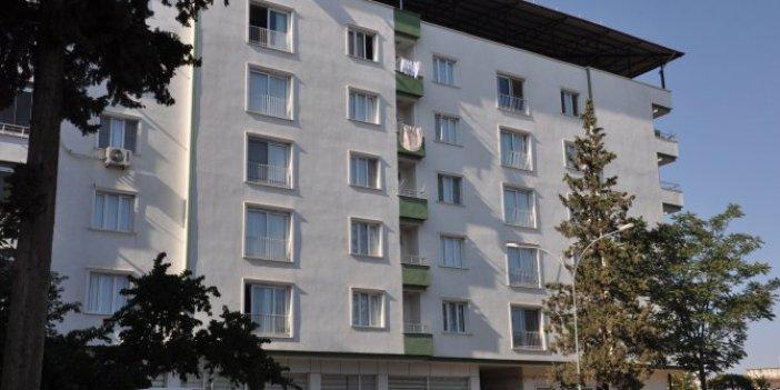İslahiye'de 53 kişinin yaşadığı apartman karantinaya alındı