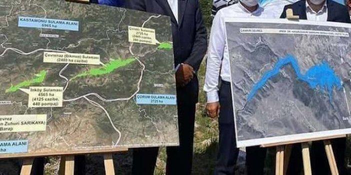 Temeli atılan baraj kayboldu: Yapımı için 450 milyon lira ayrılmıştı
