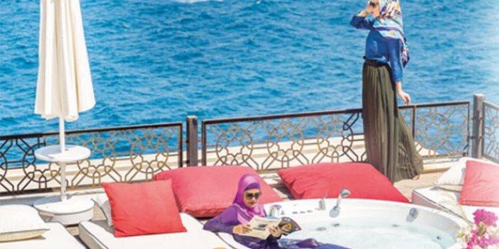 Helal otelde konsept krizi: Rezervasyon yaptıranlar kapıda kaldı