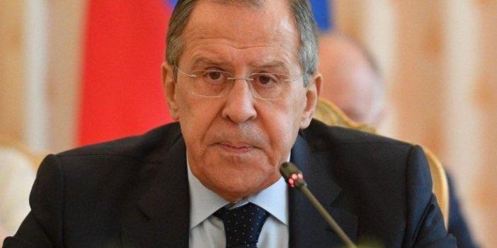 Rusya Dışişleri Bakanı'ndan Türkiye ile ilgili flaş açıklama
