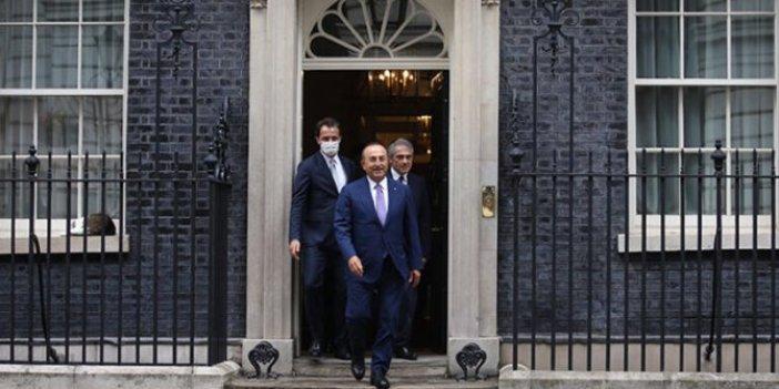Bakan Çavuşoğlu'ndan İngiltere ziyareti