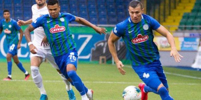 Ç. Rizespor - Kayserispor maç sonucu: 3 - 2