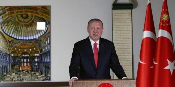 Erdoğan'dan Dünya'ya Ayasofya mesajı: 'Karara saygı göstermek zorundalar'
