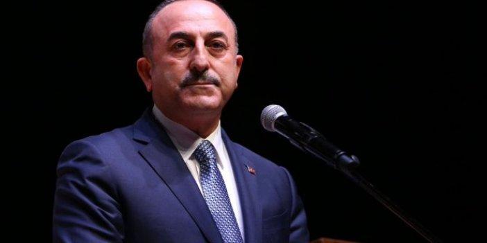 Financial Times'a konuştu: Çavuşoğlu'ndan çok sert Hafter mesajı!