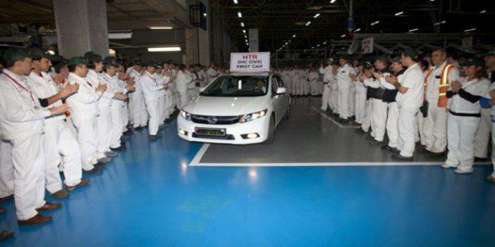 1070 kişi çalışıyordu! Honda Türkiye'den kötü haber