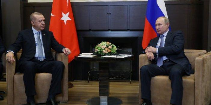 Erdoğan- Putin görüşmesinin detayları belli oldu