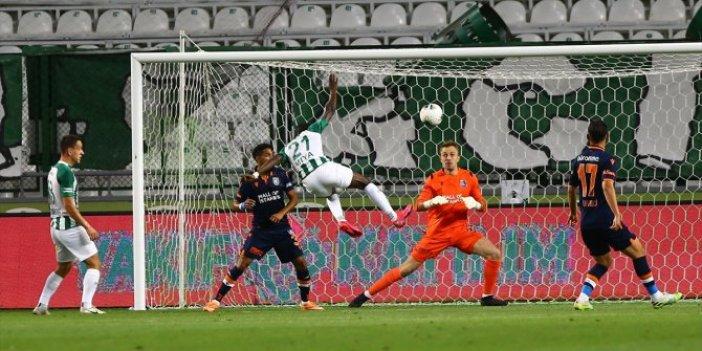 Nefes kesen maç: Konya, Başakşehir'i 4-3 yendi