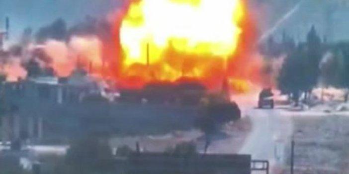Türk-Rus devriyesine bombalı saldırı