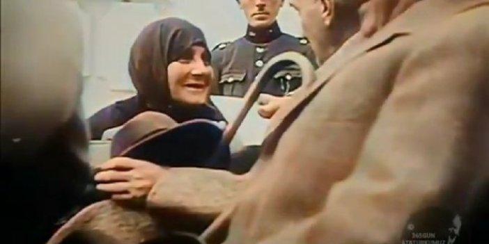 İzleyince hayran kalacaksınız... İşte Atatürk'ün yıllar sonra yeniden gündem olan görüntüleri