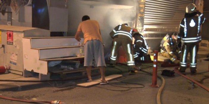 Bağcılar'da 10 işyerinde esrarengiz yangın