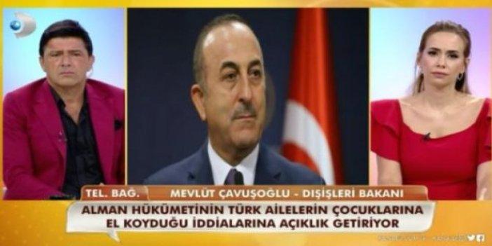 Dışişleri Bakanı Çavuşoğlu canlı yayında skandalı doğruladı: Alman hükümeti Türk ailelerin çocuklarına el koyuyor