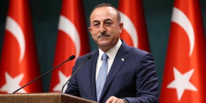 Dışişleri Bakanı Çavuşoğlu, Nijer Cumhuriyeti'nin Ankara Büyükelçisi Gazibo ile görüştü