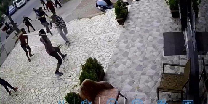Kadıköy'de dehşet dakikaları kamerada
