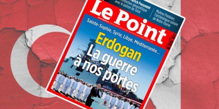 Fransızlardan Türkiye'ye tehdit 'Savaş kapımızda' dergilerine manşet yaptılar