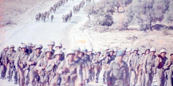 Ayşe tatile çıksın! MSB'den Kıbrıs Barış Harekatı'nın tarihi fotoğrafları