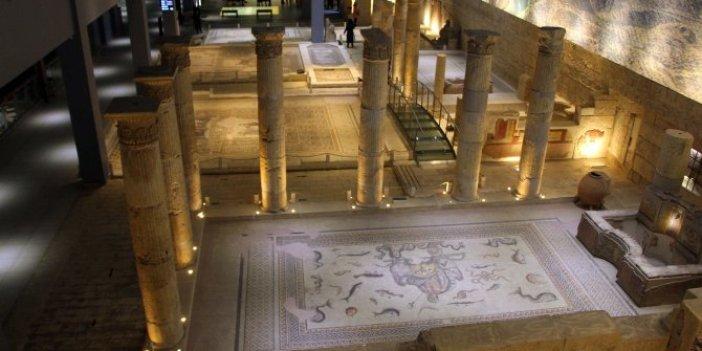Zeugma Mozaik Müzesi'nde 10 eser kayıp