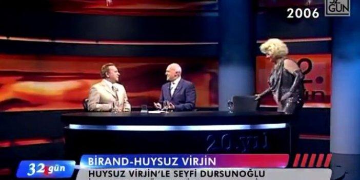 Seyfi Dursuoğlu ve Huysuz Virjin ilk kez karşı karşıya geldi: Mehmet Ali Birand böyle aralarında kaldı