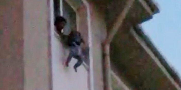 Burdur'da kan donduran olay! Şizofren anne ile bebeği penceredeydi! Sonrası içler acısı