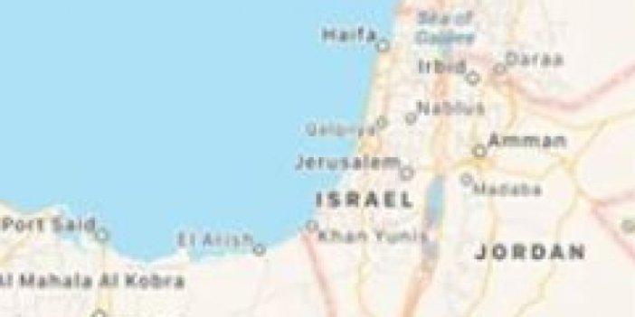 Google ve Apple, Filistin'i haritadan silmiş