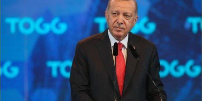 Cumhurbaşkanı Erdoğan yerli otomobil fabrikası inşaatı açılışında konuştu