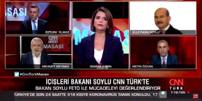 Süleyman Soylu ile Mehmet Metiner canlı yayında kavga etti!