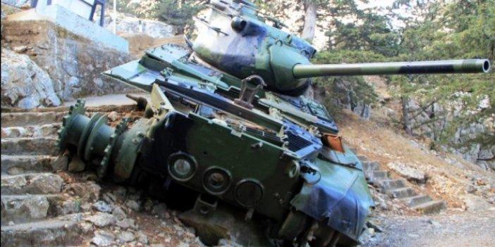 Savaş efsanesi değil, gerçek: Beşparmak Dağı'nın tepesinde kalan o tankın hikayesi!