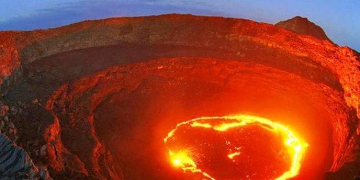 Yanardağ krateri nedir