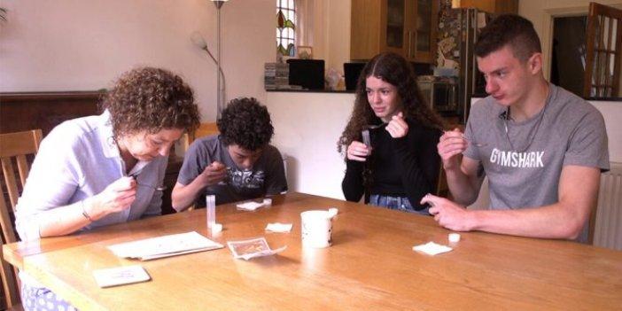 Korona testi yaptırmaya çekinenlere müjde: Tükürük testiyle evde 20 dakikada sonuç alınıyor