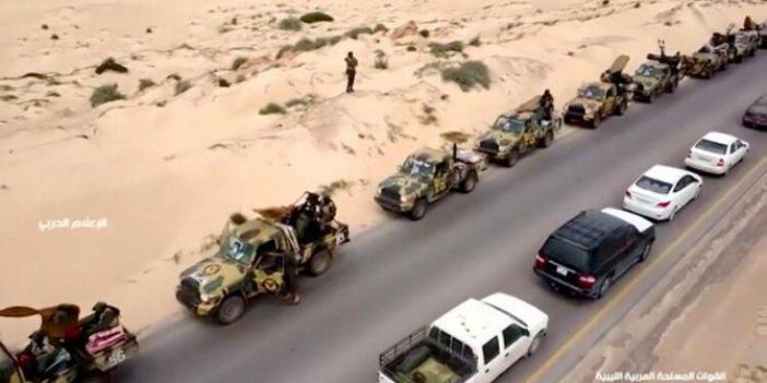 Mısır ve Hafter ateşle oynuyor! 45 araçlık konvoy bugün...
