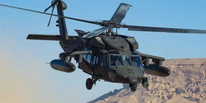 Asker taşıyan helikopter kayboldu