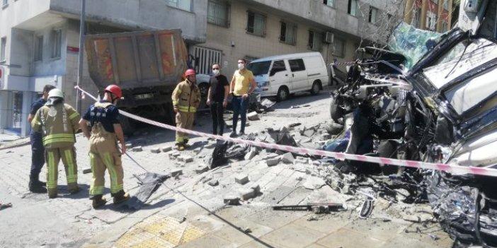 İstanbul'da kamyon terörü bitmek bilmiyor