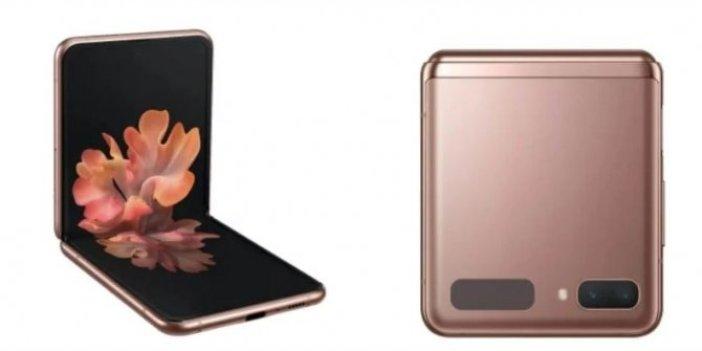 Samsung, katlanabilir Galaxy Z Flip 5G'yi tanıttı
