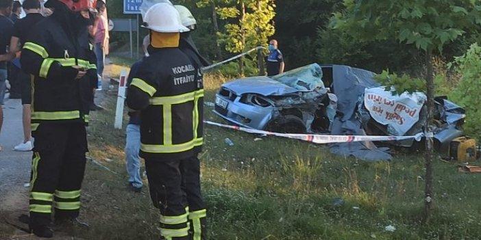 Kocaeli'de feci kaza! Aynı aileden 5 kişi hayatını kaybetti