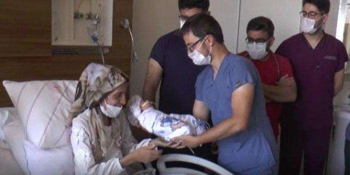 Kalpleri duran anne ile karnındaki bebeğin mucize kurtuluşu